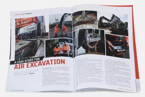 HydroVac Contractor magazine article