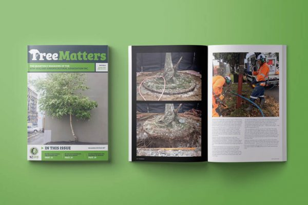 HydroVac in Tree Matters magazine