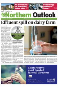Northern Outlook dairy farm effluent spill story
