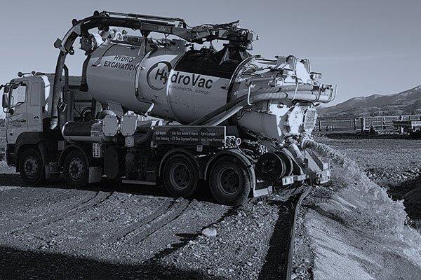 HydroVac Christchurch Team working on a spill